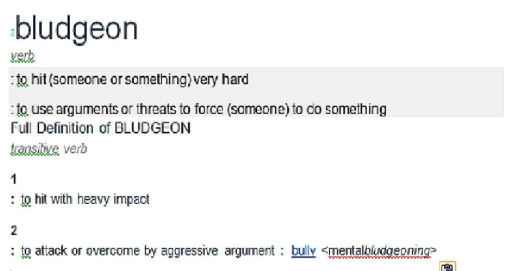 Definition from Merriam-Webster Dictionary Online