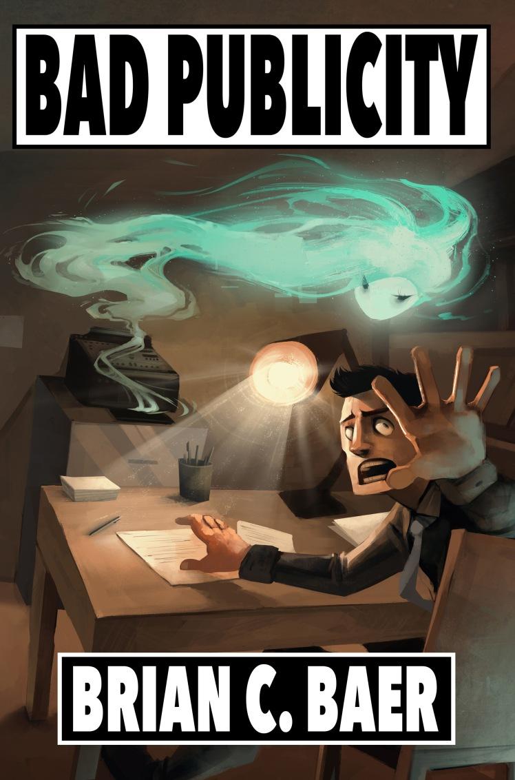 Bad Publicity by Brian Baer for Porfirio Press. Art by Michaela Martin http://coconutmilkyway.deviantart.com/gallery/