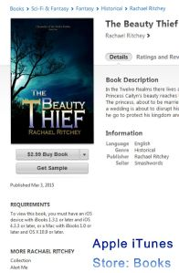The Beauty Thief on iTunes' Store