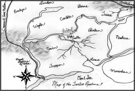 Map of the Twelve Realms