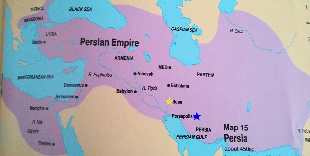 Student Bible Atlas: Persia