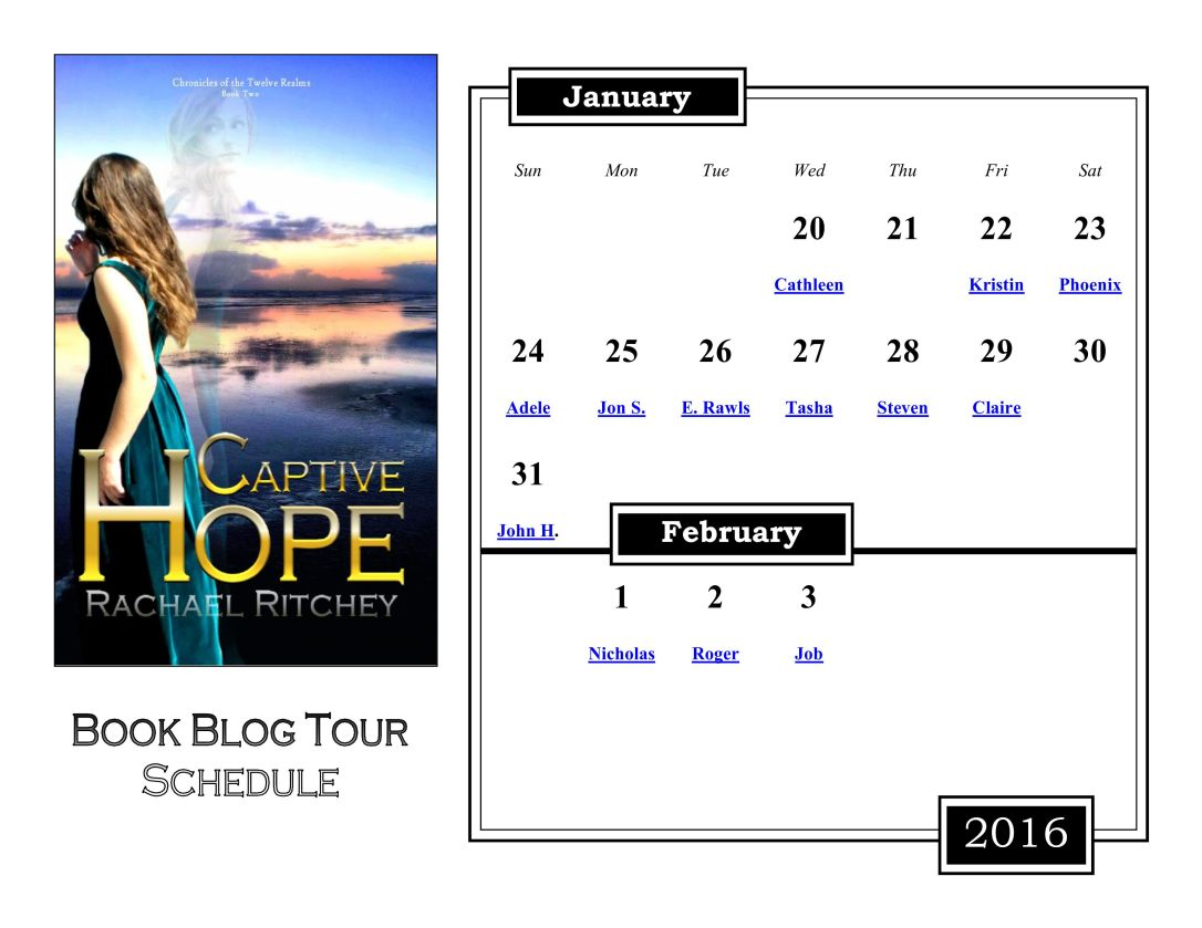 Calendar book tour