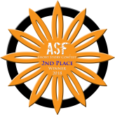 asf 2nd place badge